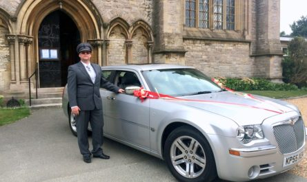 chauffeur for a wedding